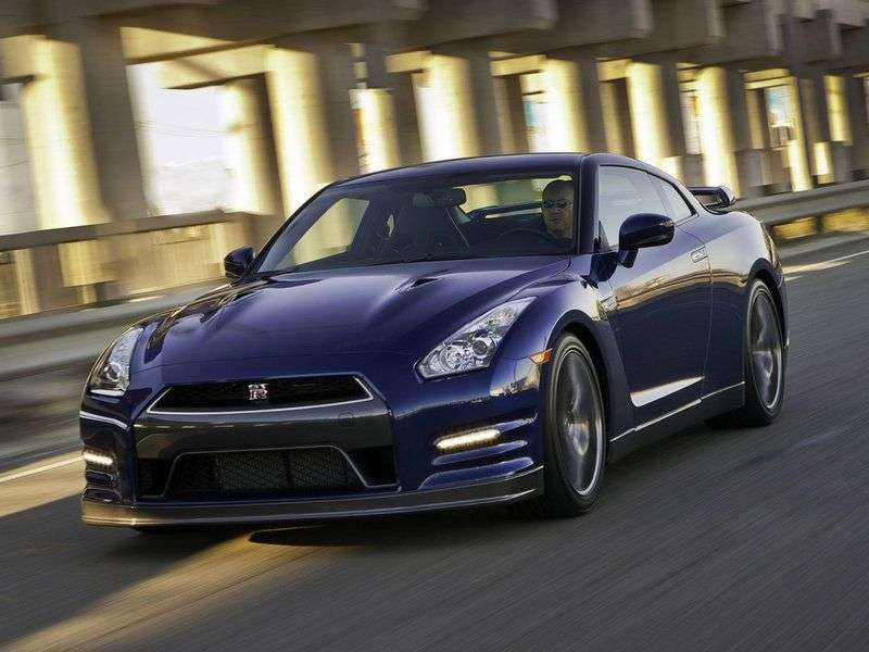Nissan GT R R35 [2nd restyling] coupe 3.8 T GR6 AWD Black Edition (2012) (2012 – n.)