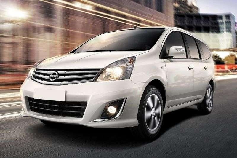 Nissan Livina 1st generation [restyled] Grand 5 door minivan 1.5 AT (2011 – n. In.)