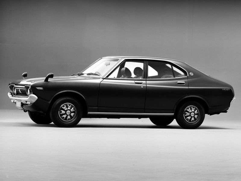 Nissan Violet 710 sedan 1.6 SSS 5MT (1973–1976)