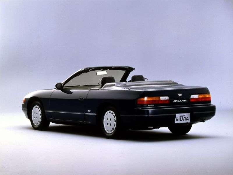 Nissan Silvia S13 cabriolet 2.0 AT (1988–1994)
