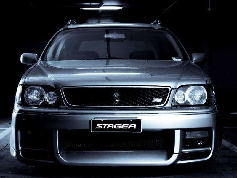 Nissan Stagea WC34Autech wagon 5 bit. 2.6 RS MT (1996–1998)