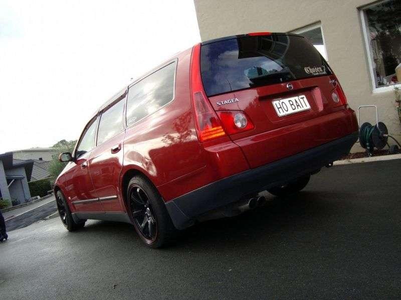 Nissan Stagea M35 [zmiana stylizacji] kombi 3.0 MT (2004 2007)