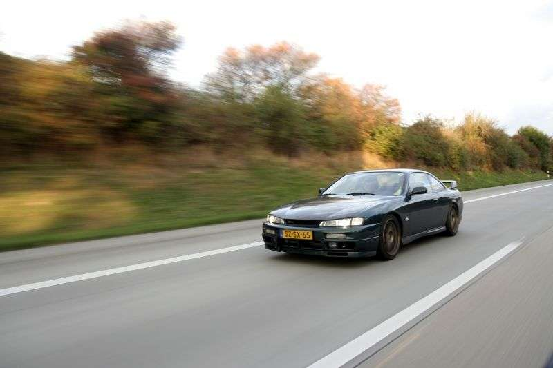 Nissan Silvia S14a [restyling] coupe 2.4 MT (1996–2000)