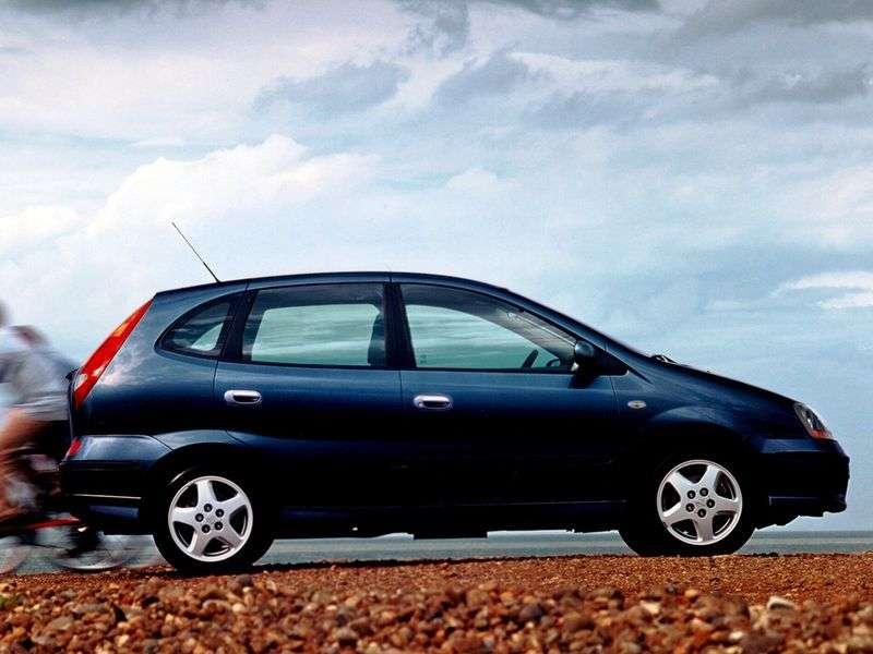 Nissan Tino V10 Minivan 1.8 5AT (2000–2006)