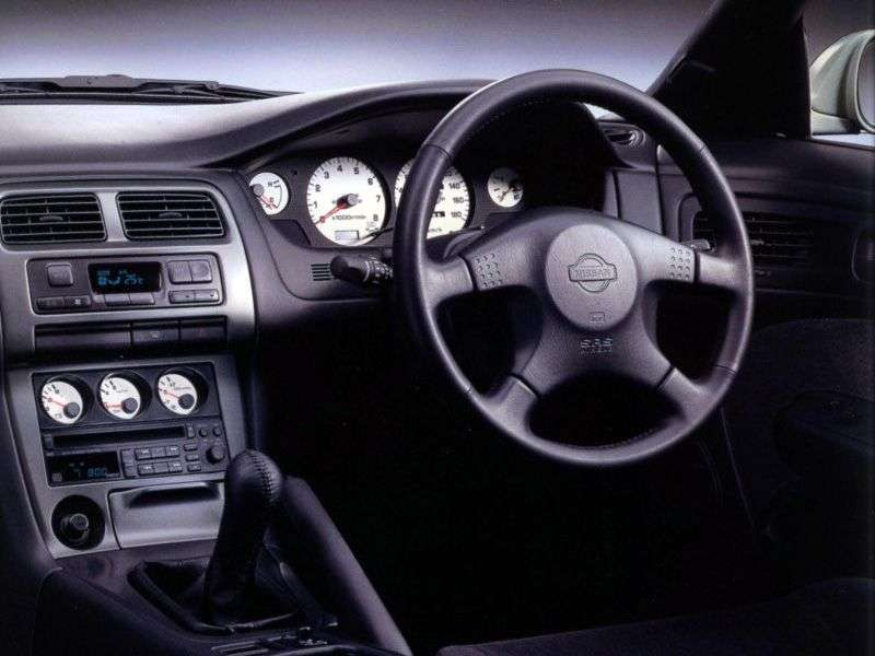 Nissan Silvia S14a [restyling] coupe 2.4 AT (1996–2000)