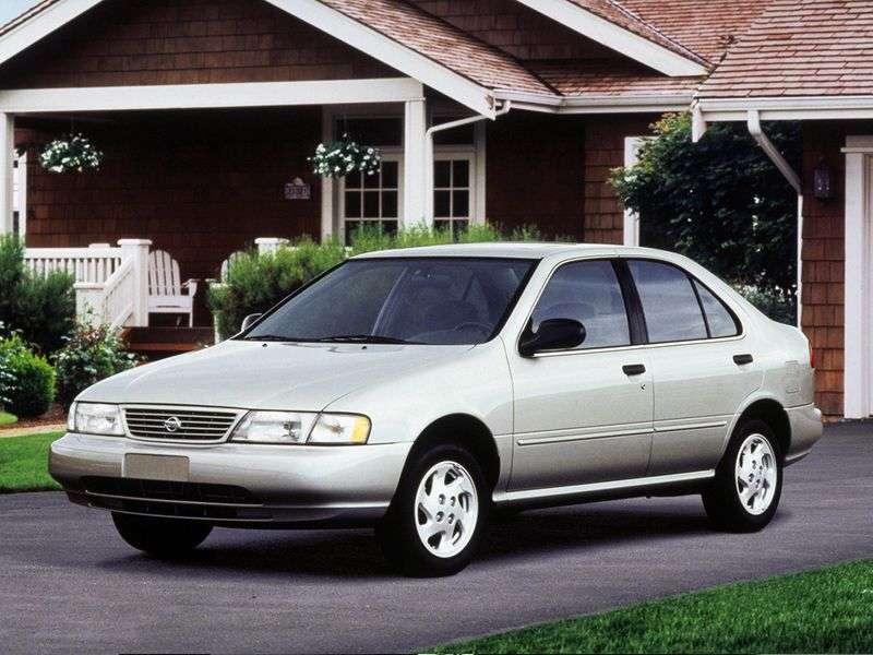 Nissan Sentra B14 sedan 1.4 MT (1995–1999)