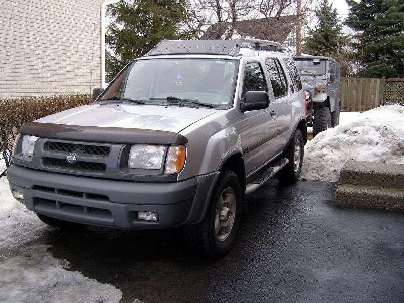 Nissan Xterra WD22 SUV 3.3 MT 4WD (1999–2001)