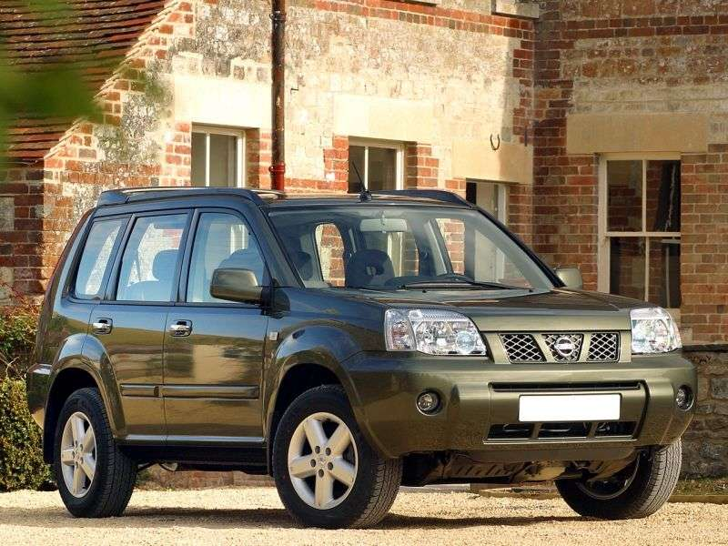 Nissan X Trail T30 [restyling] 2.0 MT crossover (2004–2007)