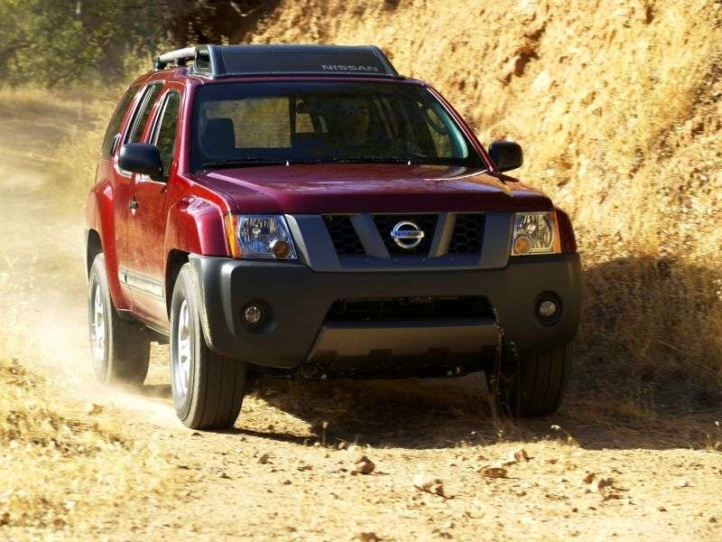 Nissan Xterra TN50 SUV 4.0 MT 4WD (2004 2008)