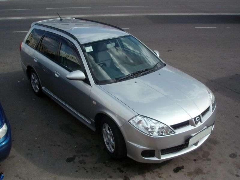 Nissan Wingroad Y11 [restyling] station wagon 2.0 MT 4WD (2001–2005)