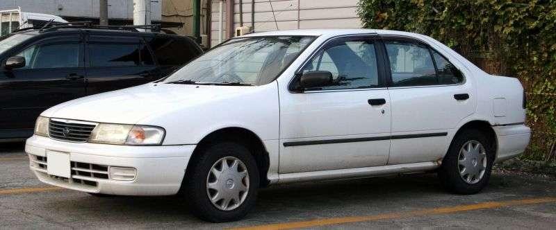 Nissan Sunny B14 sedan 1.5 MT (1993–1998)