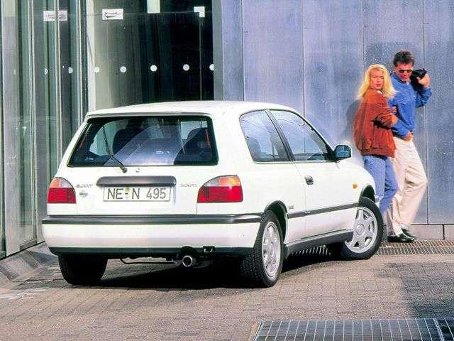 Nissan Sunny N14hatchbek 3 dv. 1.4 MT (1992–1995)