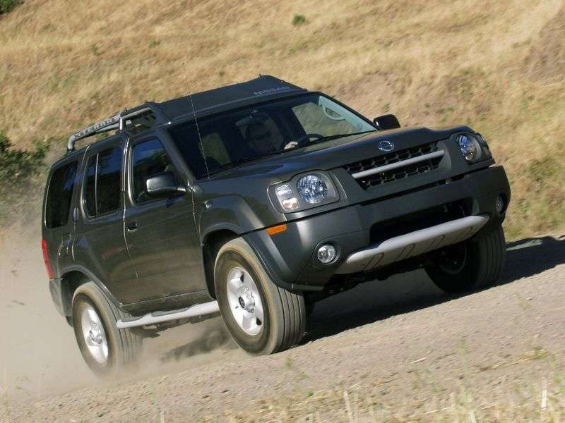 Nissan Xterra WD22 [restyling] SUV 3.3 Turbo AT 4WD (2001–2004)