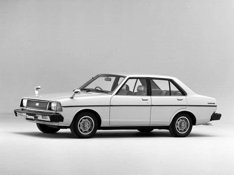 Nissan Sunny B310sedan 1.2 AT (1979–1981)
