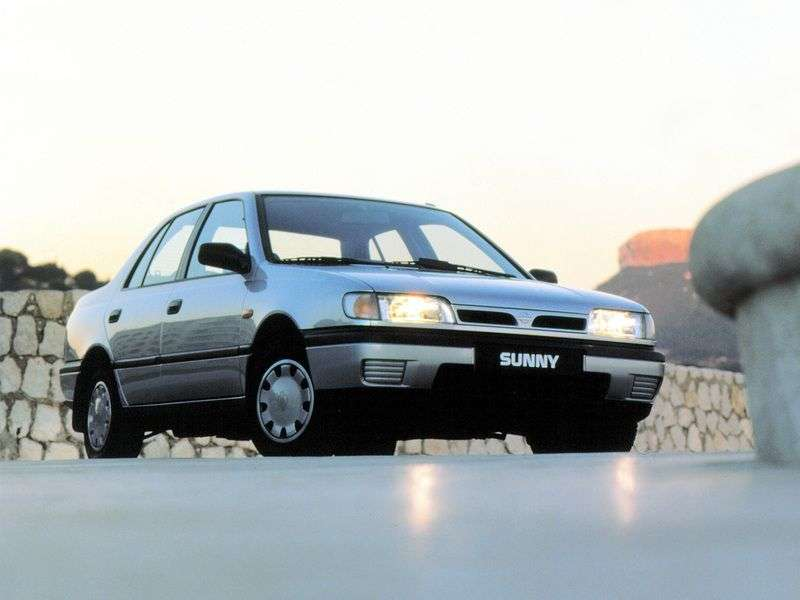 Nissan Sunny N14sedan 1.6 MT (1990–1994)