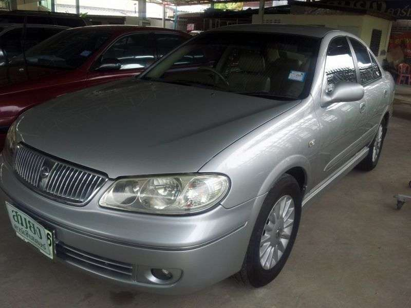 Nissan Sunny N16 [restyling] sedan 1.5 MT (2003–2009)