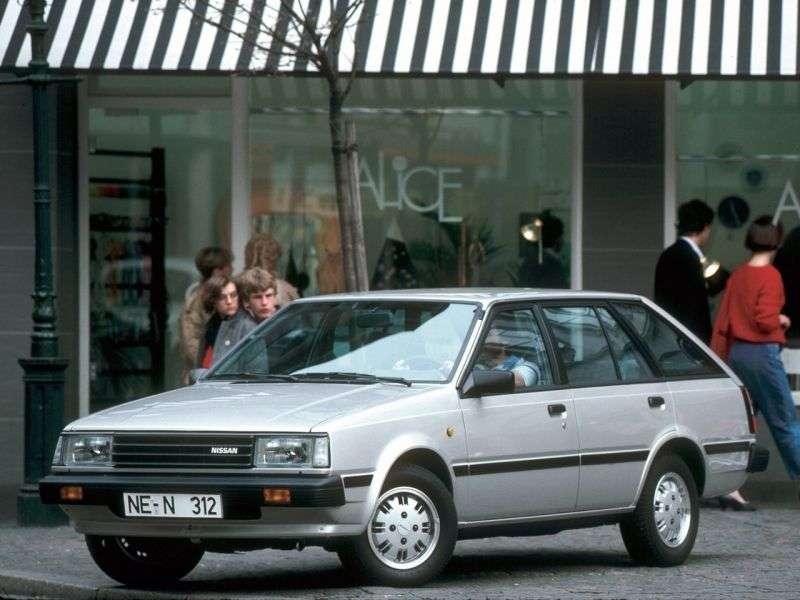 Nissan Sunny B11universal 1.5 T MT (1981–1985)