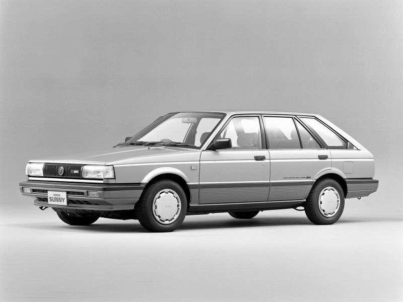 Nissan Sunny B12California wagon 1.7 D MT (1986–1991)