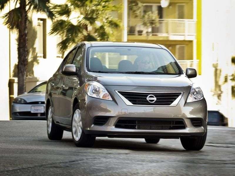 Nissan Sunny B17sedan 1.6 MT (2011 – n. In.)