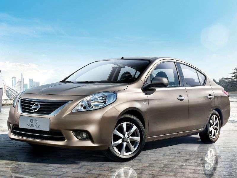 Nissan Sunny B17sedan 1.6 CVT (2011 – current century)
