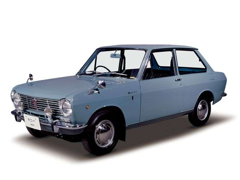Nissan Sunny B10sedan 2 dv. 1.0 MT (1966–1970)