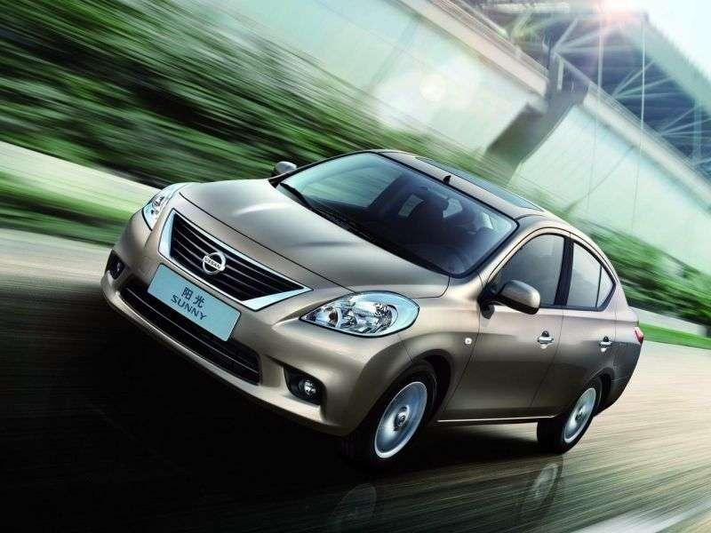 Nissan Sunny B17Sedan 1.6 CVT (2011 obecnie)