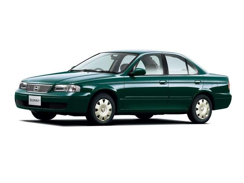 Nissan Sunny B15 Sedan 1.5 4WD AT (1998 2005)