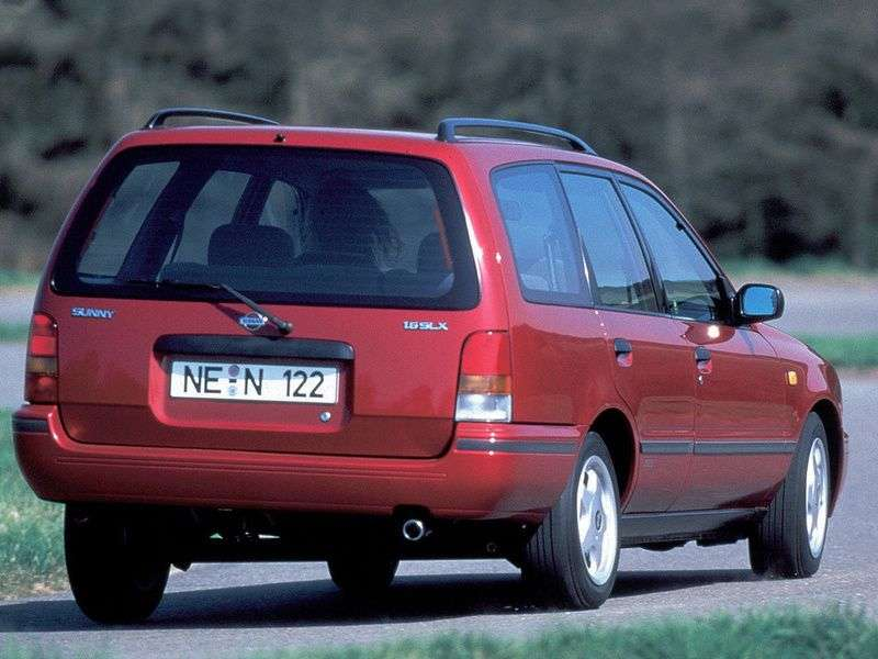Nissan Sunny Y10universal 2.0 D MT (1991–2000)
