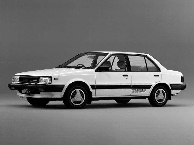 Nissan Sunny B11 sedan 1.5 T MT (1981 1985)