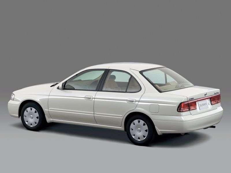 Nissan Sunny B15sedan 1.5 4WD AT (1998–2005)