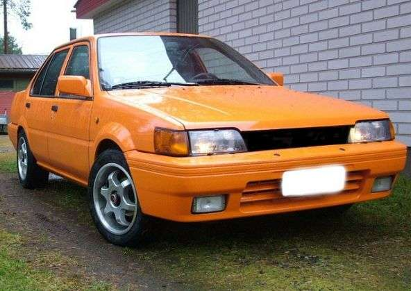 Nissan Sunny N13sedan 1.3 MT (1986–1991)