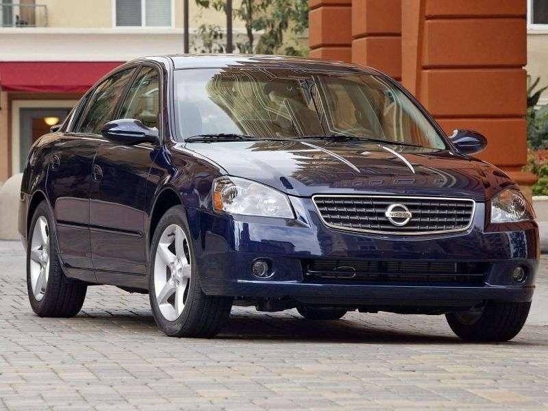 Nissan Altima L31 [zmiana stylizacji] sedan 4 drzwiowy. 2,5 AT (2005 2006)