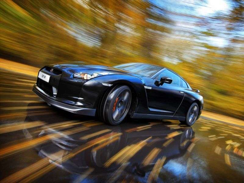 Nissan GT R R35 Coupe 3.8 AMT (2007–2010)