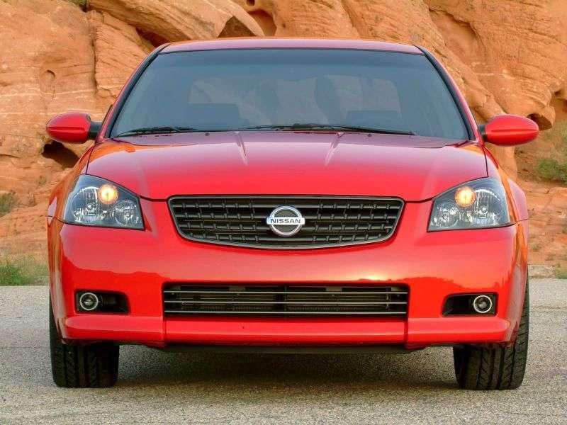 Nissan Altima L31 [restyling] SE R sedan 4 doors. 3.5 AT (2005–2006)