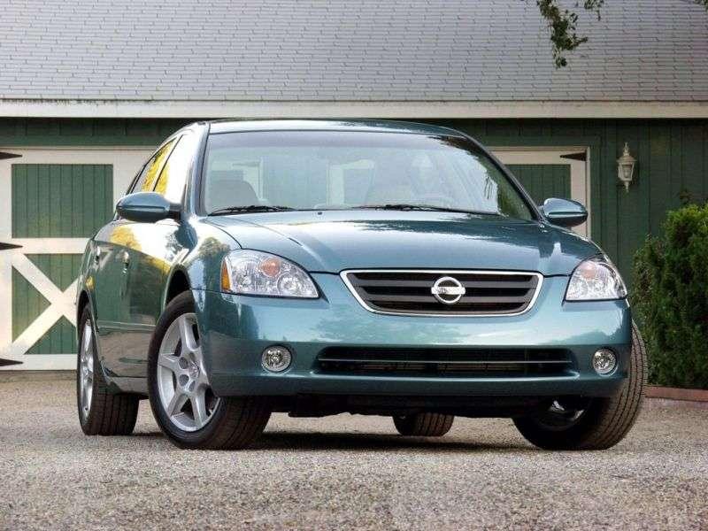 Nissan Altima L31 sedan 3.5 MT (2002–2005)