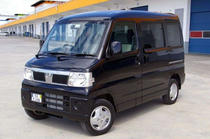 Nissan Clipper U71Rio van 0.7 AT 4WD Aero (2007–2010)