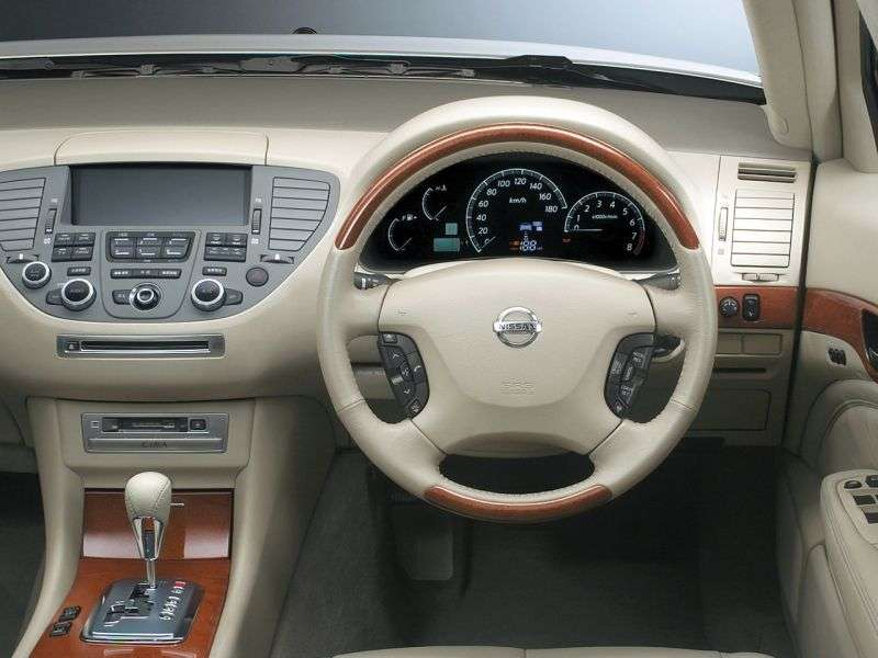 Nissan Cima Y50 [restyling] 3.0 Turbo AT sedan (2004–2010)