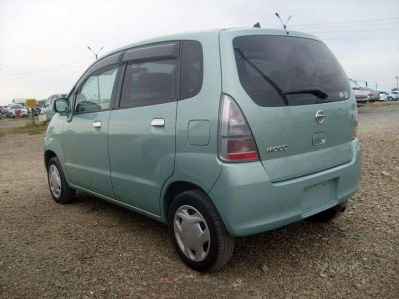 Nissan Moco SA0hatchbek 0.7 Turbo AT (2002–2006)
