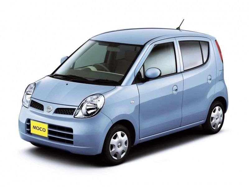 Nissan Moco SA1 outback 0.7 turbo AT (2006–2011)