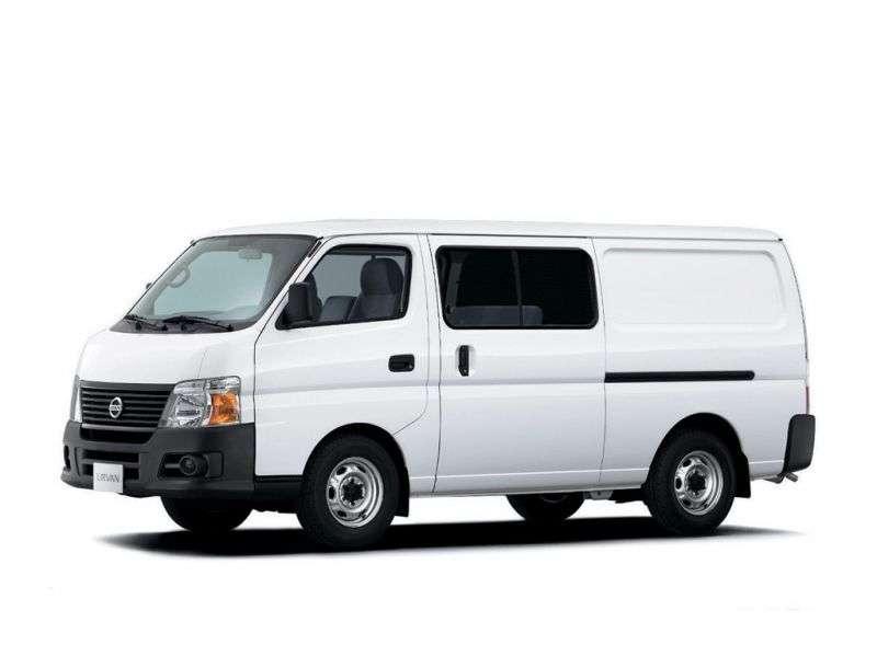 Nissan Urvan E25 [restyling] van 3.0 TD AT L1H1 (2007–2012)