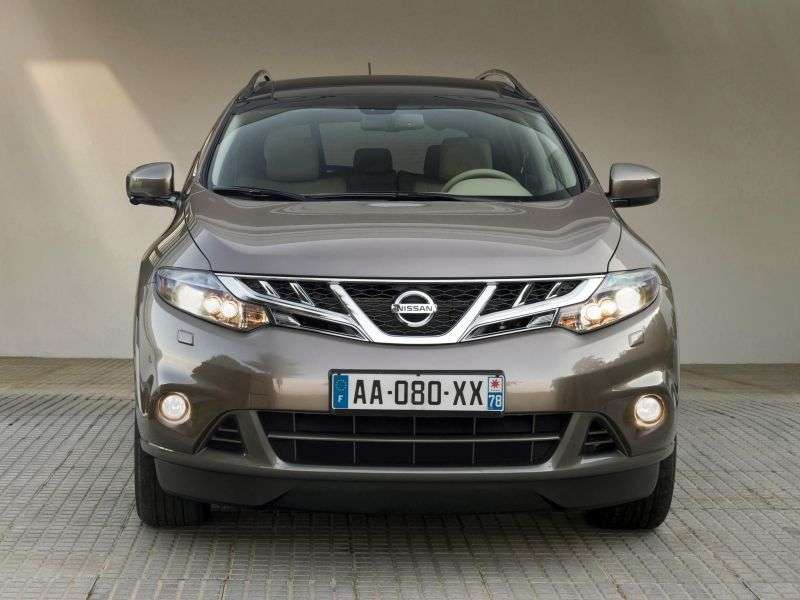 Nissan Murano Z51 [restyled] crossover 3.5 CVT AWD LE R (2013) (2010 – current century)