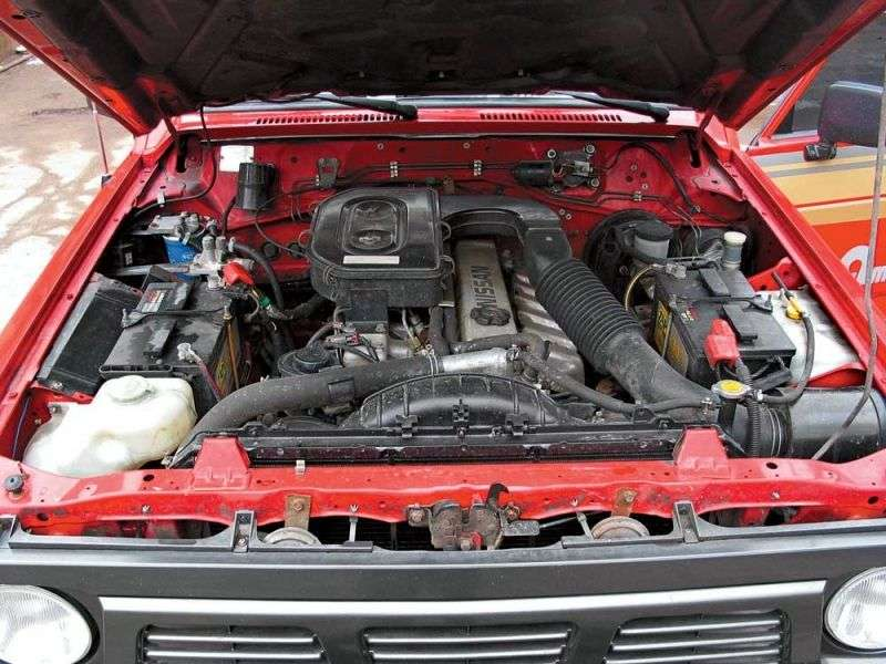 Nissan Patrol 160/260 [restyling] SUV 2.8 MT (1982–1985)