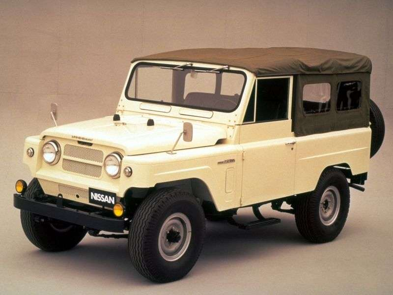 Nissan Patrol 6060 Soft Top SUV 2 doors 4.0 MT (1960–1980)