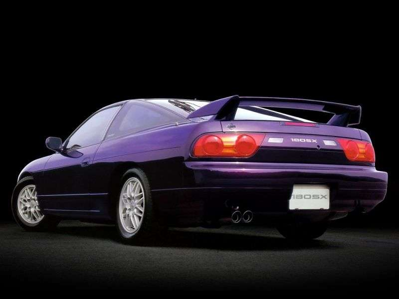 Nissan 180SX RPS13 [2nd restyling] liftback 2.0 AT (1996–1999)