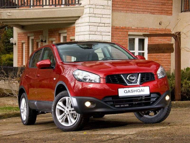Nissan Qashqai 1st generation [restyled] crossover 2.0 CVT XE (  B  ) (2013) (2010 – current century)