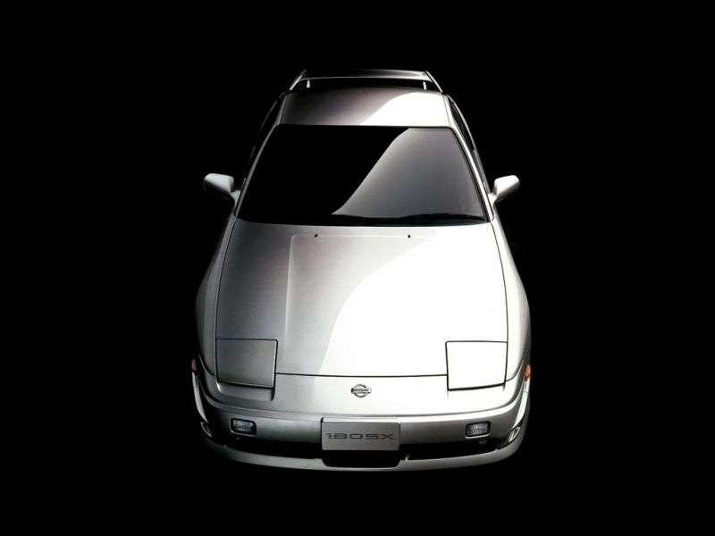 Nissan 180SX RPS13 [2nd restyling] liftback 2.0 MT (1996–1999)