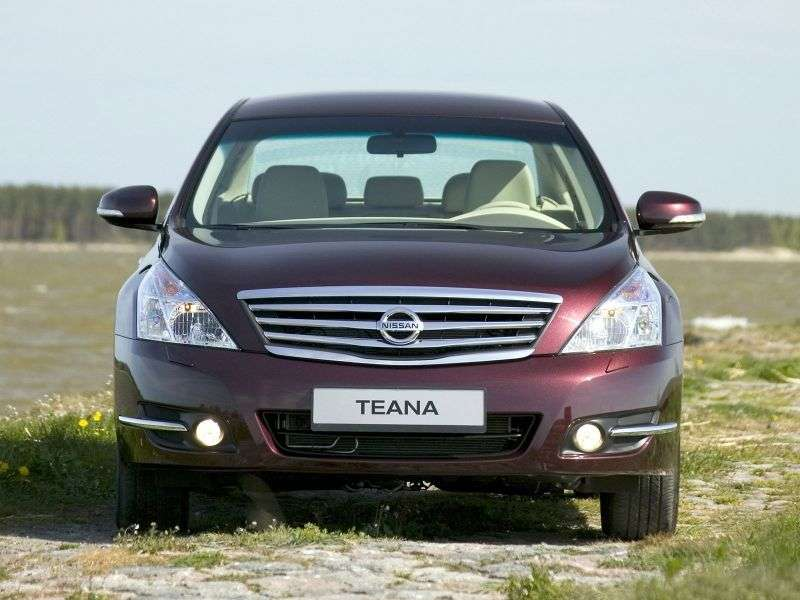 Nissan Teana J32sedan 2.5 CVT AWD Luxury + Four (2012) (2008 – present)