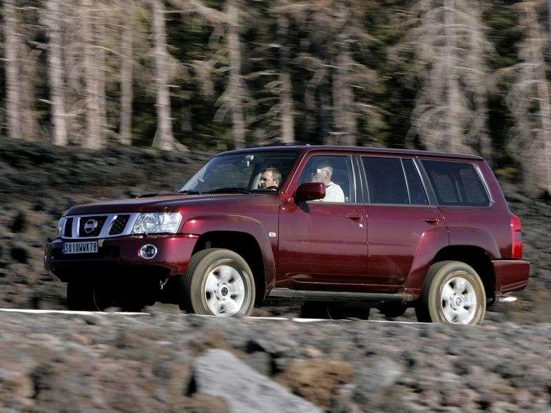 Nissan Patrol Y61 [restyling] SUV 5 dv. 4.2 D MT (2004–2010)