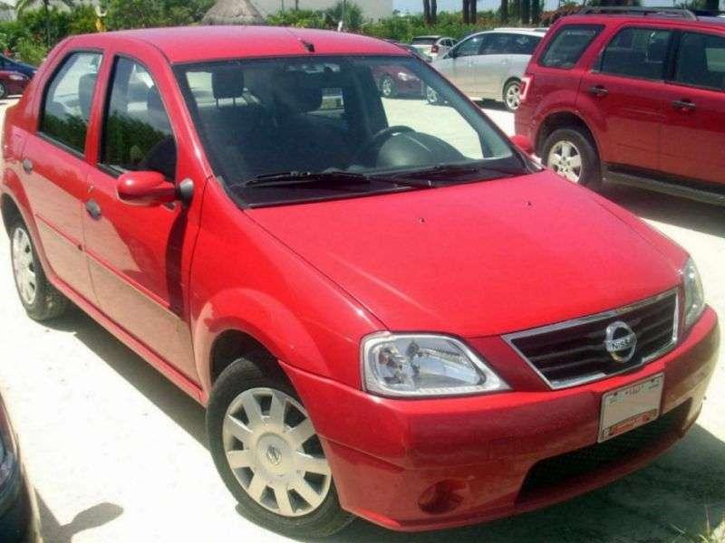 Nissan Aprio 1st generation sedan 1.6 AT (2007–2010)