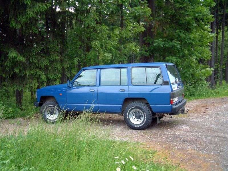Nissan Patrol 160/260 [2nd restyling] SUV 5 dv. 2.8 D MT (1986–1994)